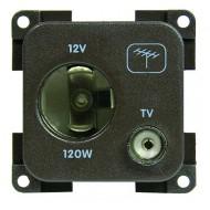 MP12ATV presa 12 v accendisigari + TV grigio