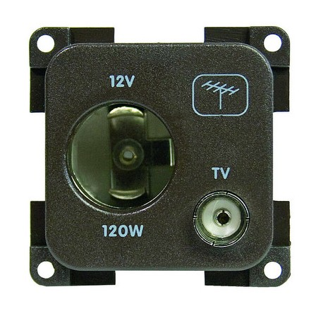 MP12ATV presa 12 v accendisigari + TV grigio