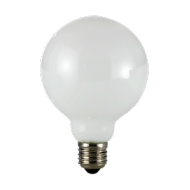 Lampadina Led Globo 230 V, vetro, 8 W, luce calda, base E27