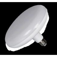 Lampadina a led circolare, 230 v, 18 W, luce calda, base E27