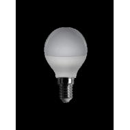 Lampadina a led mini sfera, 230 V, 6 W, luce calda, base E14