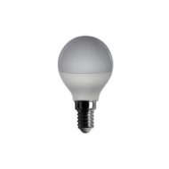 Lampadina a led mini sfera, 230 V, 6 W, luce calda, base E14