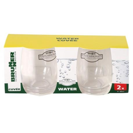 Water Glass Cuvèe set 2 pz