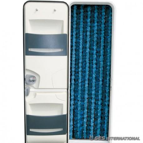 Tenda ciniglia azzurro/blu 56x200