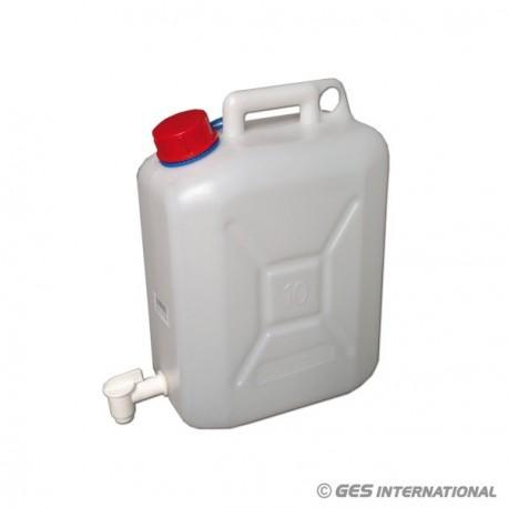 Tanica acqua potabile 10 L c/rubinetto