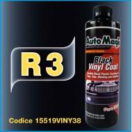 R3 BLACK VINYL COAT