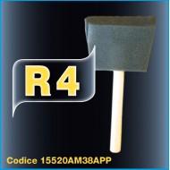 R4  PENNELLO DI SPUGNA PER BLACK VINYL COAT 38