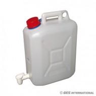 Tanica acqua potabile 20 L c/rubinetto