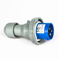 Spina 2P+T 16 A 230V IP67