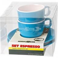 Set due tazzine espresso Spectrum