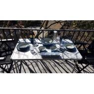 Tavolo da campeggio in alluminio Silver Gapless Extender