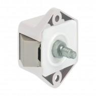 Mini Push Lock bianco