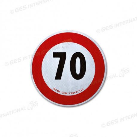 Disco di velocità omologato 70 Km/h