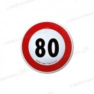 Disco di velocità omologato 80 Km/h