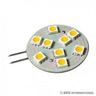 Lampadina G4 9 LED bianco caldo