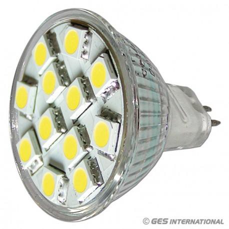 Lampada MR11 12LED bianco freddo