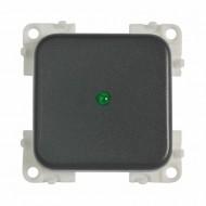 INTERRUTTORE MC12P 12V+LED GRIGIO