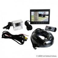 """Kit retrocamera occhio singolo con monitor 7"""""""