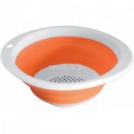 Fold-Away Colander Arancione