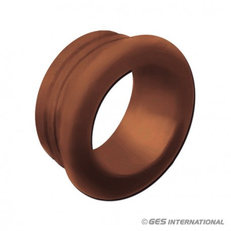 Mini rosetta marrone